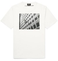 Calvin Klein 205W39nyc Andy Warhol Foundation Printed Cotton Jersey T Shirt White