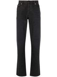 Burberry Straight Leg Distressed Detail Jeans 60