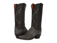 Lucchese Kd4002.54 Charcoal Black Women's Boots