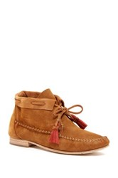 Soludos Moccasin Bootie Brown