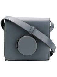 Christophe Lemaire Structured Camera Bag Grey