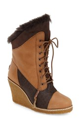 Women's Australia Luxe Collective 'Meditere' Genuine Calf Hair And Genuine Shearling Boot Tan Beva Leather