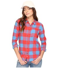 Vans Moody Blues Ii Flannel Tomato Women's Clothing Red