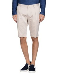 Hilton Trousers Bermuda Shorts Men Light Grey