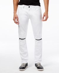 Inc International Concepts Men's Trend Slim Fit Jeans Only At Macy's White