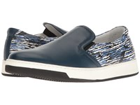 Bugatchi Art Basel Sneaker Petrolio Men's Shoes Blue