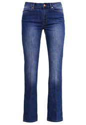 Escada Sport Bootcut Jeans Midnight Denim Blue Denim