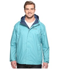 Columbia Watertight Ii Jacket Tall Teal Men's Coat Blue
