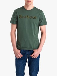 Barbour National Trust Exclusive Logo T Shirt Green