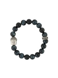 King Baby Studio Meditating Buddha Bracelet Blue