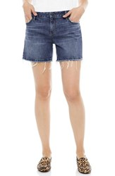 Sam Edelman The Derby Cutoff Stretch Denim Shorts Leighton