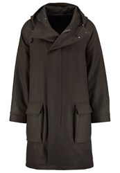 Filippa K M. Joel Classic Coat Dark Green