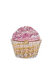 Judith Leiber Strawberry Cupcake Pill Box Pink
