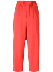 M Missoni Cropped Pants Red