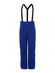 Peak Performance Maroon Ski Pant Electric Blue