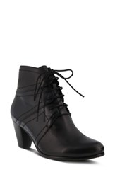 Spring Step Hilde Bootie Black Multi Leather