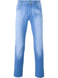 Jacob Cohen Stonewashed Jeans Blue