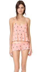 Wildfox Couture French Press Pj Set Peachy Keen