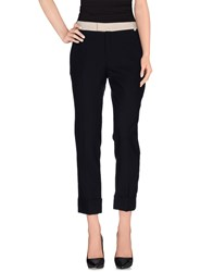 Band Of Outsiders Trousers Casual Trousers Women Dark Blue