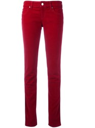 Armani Jeans Slim Fit Straight Red