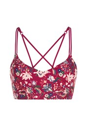 Lorna Jane Persia Yoga Bra Multi Coloured Multi Coloured