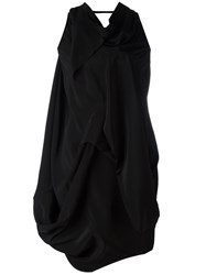 Rick Owens Ruched Blouse Black