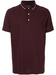 Emporio Armani Eagle Logo Polo Shirt Brown