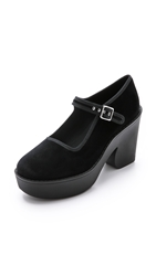 Marc By Marc Jacobs Mary Jane Wedges Black Black