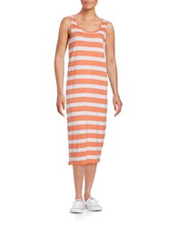 Bench Striped Expert Dress Pink White