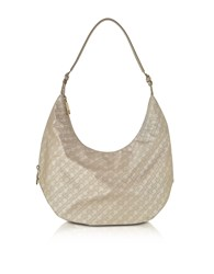 Gherardini Handbags Clay Signature Fabric And Leather Softy Shoulder Bag