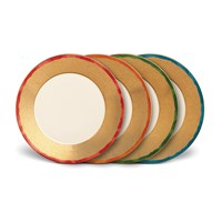 L'objet Fortuny Dinner Plates Set Of 4 Assortment