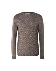 8 Knitwear Jumpers Dove Grey