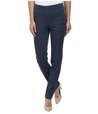 Miraclebody Jeans Janis Pull On Tapered Sueded Sateen Slate Grey Women's Casual Pants Multi