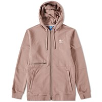Adidas Modern Zip Hoody Brown
