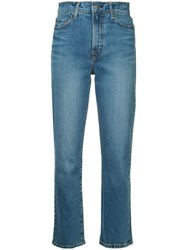 Nobody Denim Straight Leg Jeans Blue