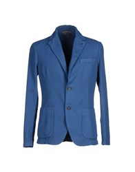 Myths Suits And Jackets Blazers Men Blue