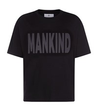 7 For All Mankind Logo Printed T Shirt Grey
