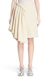 Simone Rocha Women's Embellished Sparkle Tweed Skirt