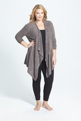Barefoot Dreamsr Plus Size Women's Dreams Drape Front Cardigan