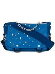 Zadig And Voltaire Ready Made Xs Shoulder Bag Blue