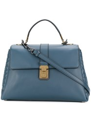 Bottega Veneta Medium Piazza Bag Blue