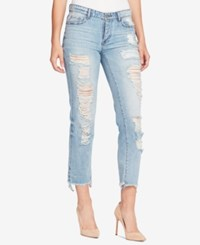 William Rast Cotton Ripped Boyfriend Jeans 90 S Jewel
