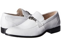 Stacy Adams Spencer White Men's Shoes