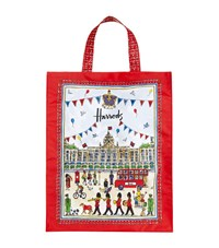 Harrods Medium Street Party Shopper Bag Unisex