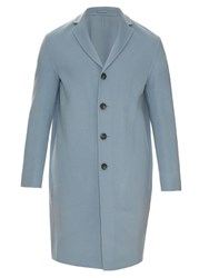 Acne Studios Charlie Wool And Cashmere Blend Coat Light Blue
