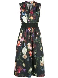 Adam By Adam Lippes Floral A Line Dress 60