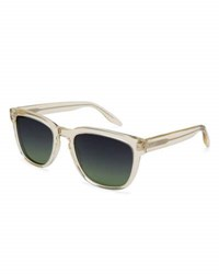 Barton Perreira Men's Coltrane Square Acetate Sunglasses Champagne
