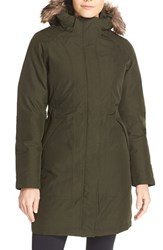The North Face Women's 'Arctic' Down Parka With Removable Faux Fur Trim Hood
