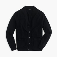 J.Crew Merino Wool Cardigan Black