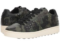 Coach Wild Beast Studded C101 Low Top Sneaker Military Wild Beast Shoes Green